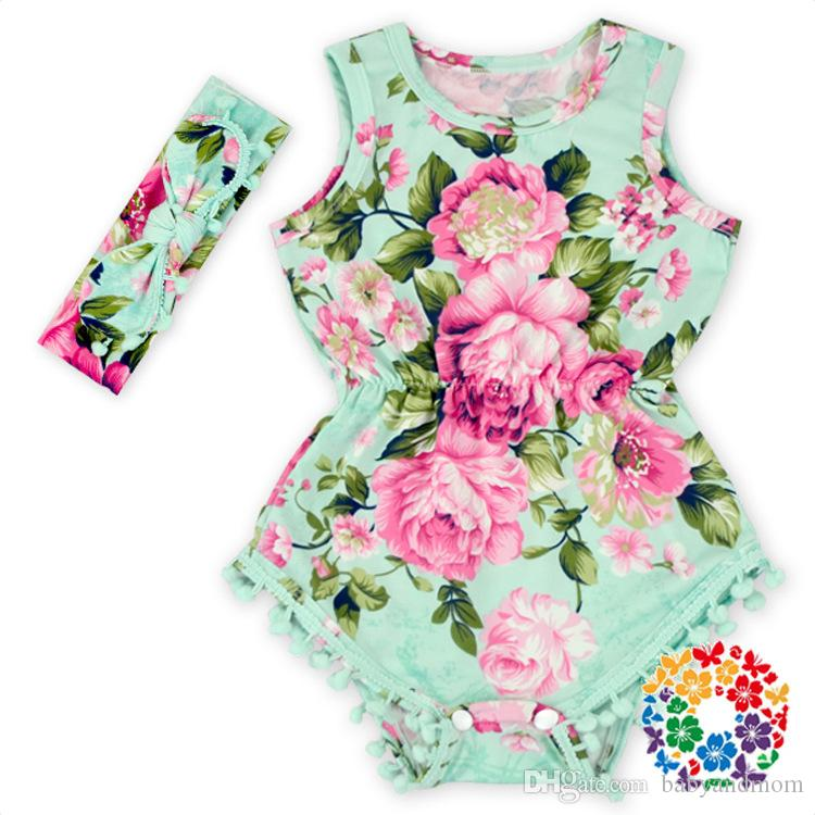 Floral print romper,baby girls rompers,baby romper for girls,bubble romper,baby girl clothes,3 colors baby outfit