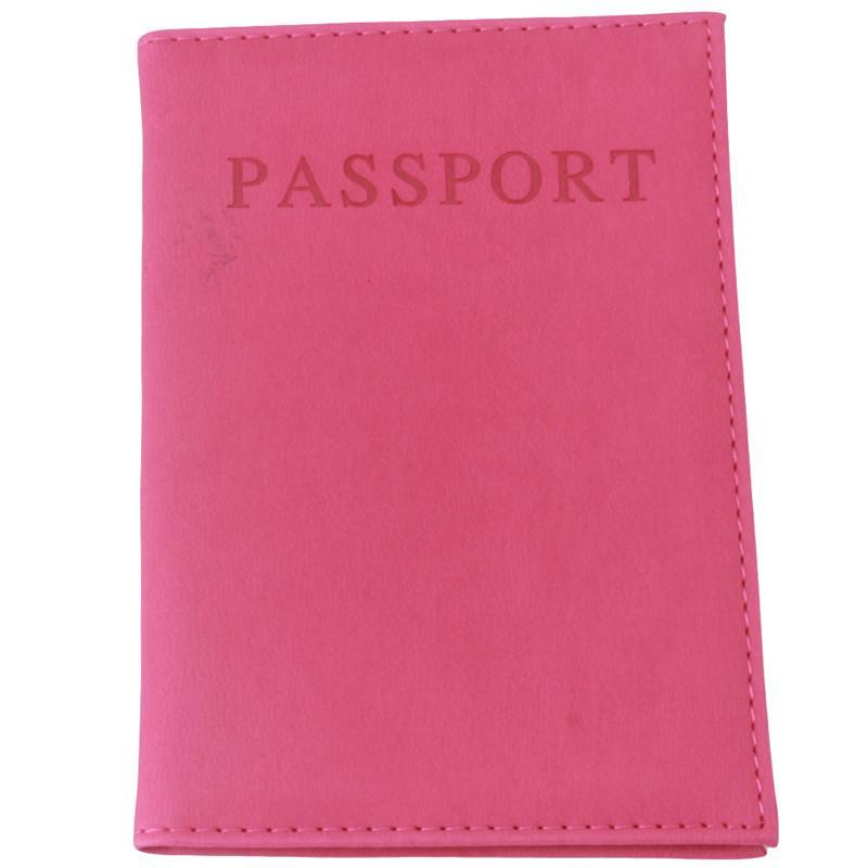 Al por mayor de cuero Hengsong Faux de la manera del pasaporte del recorrido sostenedor del bolso tarjeta de identificación Cubierta del pasaporte Monedero manga protectora Bolsa de almacenamiento RD838528