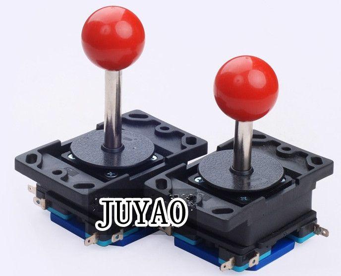 Joystick mit 8-Wege-Langschaft oder kurzem Schaft mit runder Kugel für Arcade-Spielautomaten, Gamecontroller