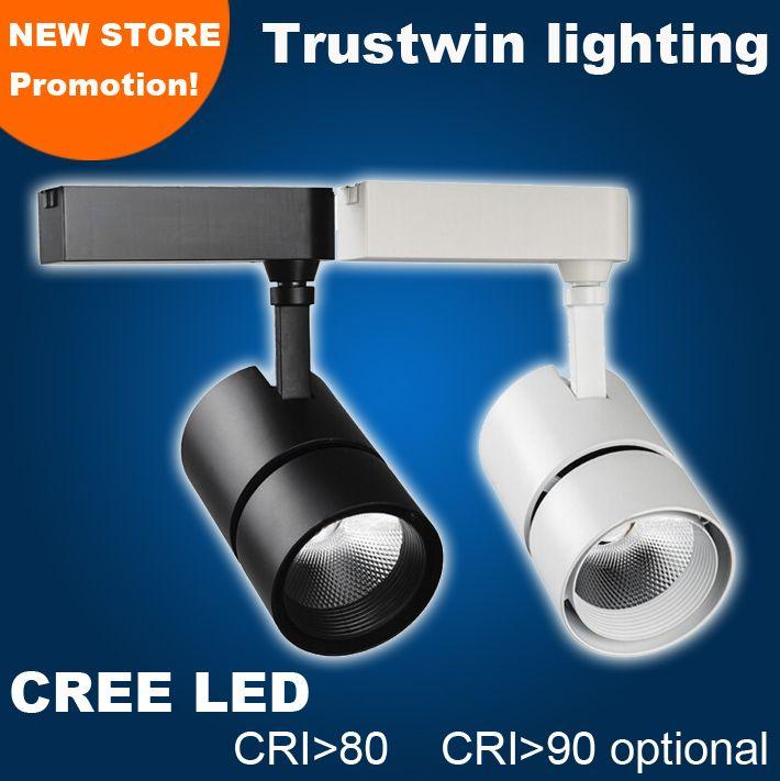 CREE 50W 천장 LED 트랙 스포트라이트 50W LED 레일 라이트 램프 85 ~ 265V 50W COB LED 트랙 라이트
