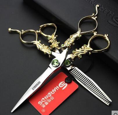 6 Zoll Art und Weiseschmierescheren Friseur für Scheren Salonspezialscheren-Haarbehandlung Freies Verschiffen-Qualitäts-neue Ankunft