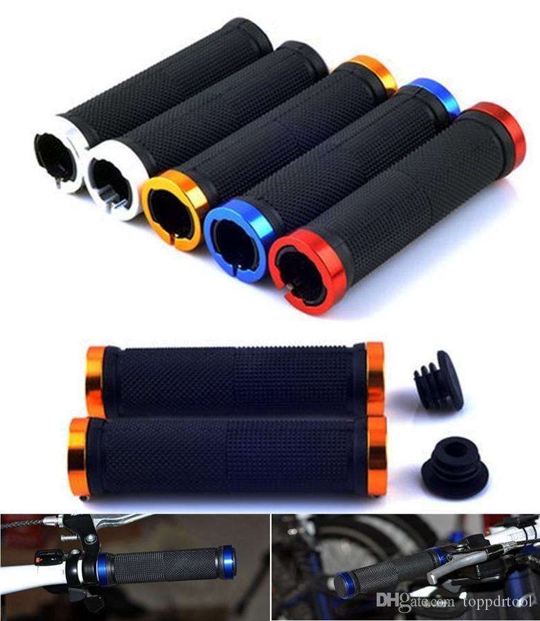 Bisiklet Gidon Sapları 2x Açık Çift Kilit Açık Kilitleme Kolu Bar BMX MTB Dağ Bisikleti Gidon 4 Renk seçim için kulplar