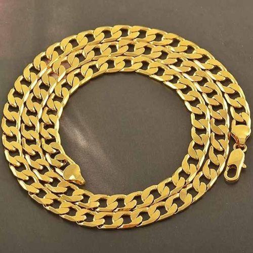 """14k oro blanco llenado para mujer para hombre collar de serpientes de plata Hip Hop Jewelry 19 """""""