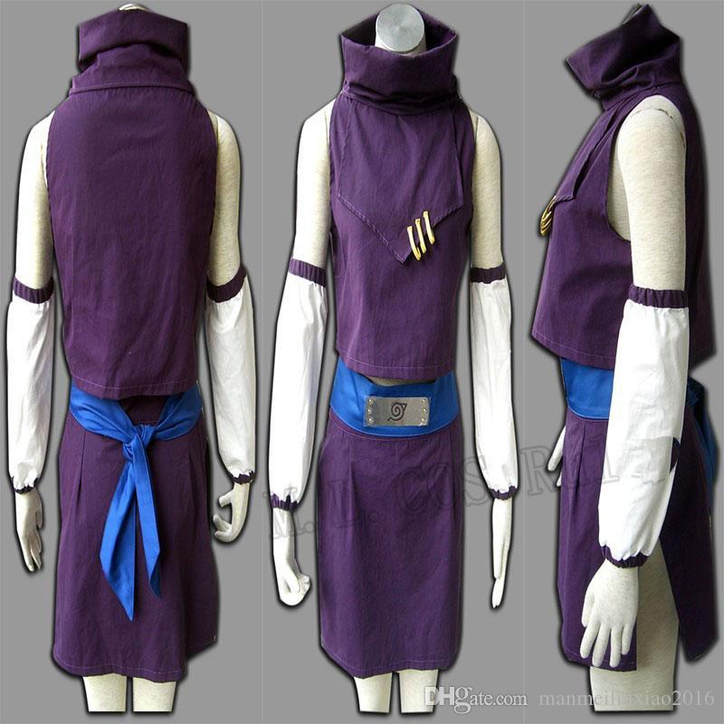 HOT Anime Halloween COS Naruto Cosplay Ino Yamanaka Cosplay Kostüm Eine Generation Kostenloser Versand Halloween Chrismas