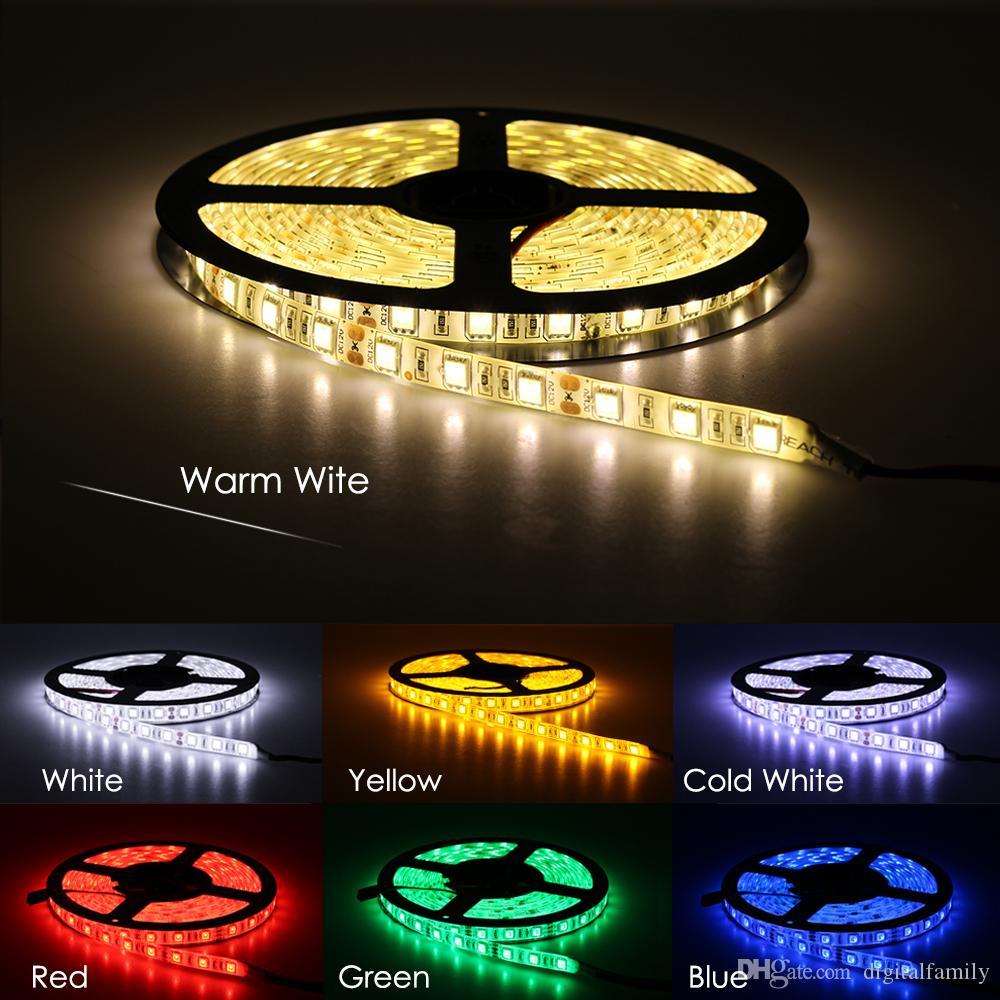 LED-Streifen 5050 DC12V 60LEDS / M 5m / lot Flexible LED-Licht RGB 5050 LED-Streifen 150 Meter von DHL