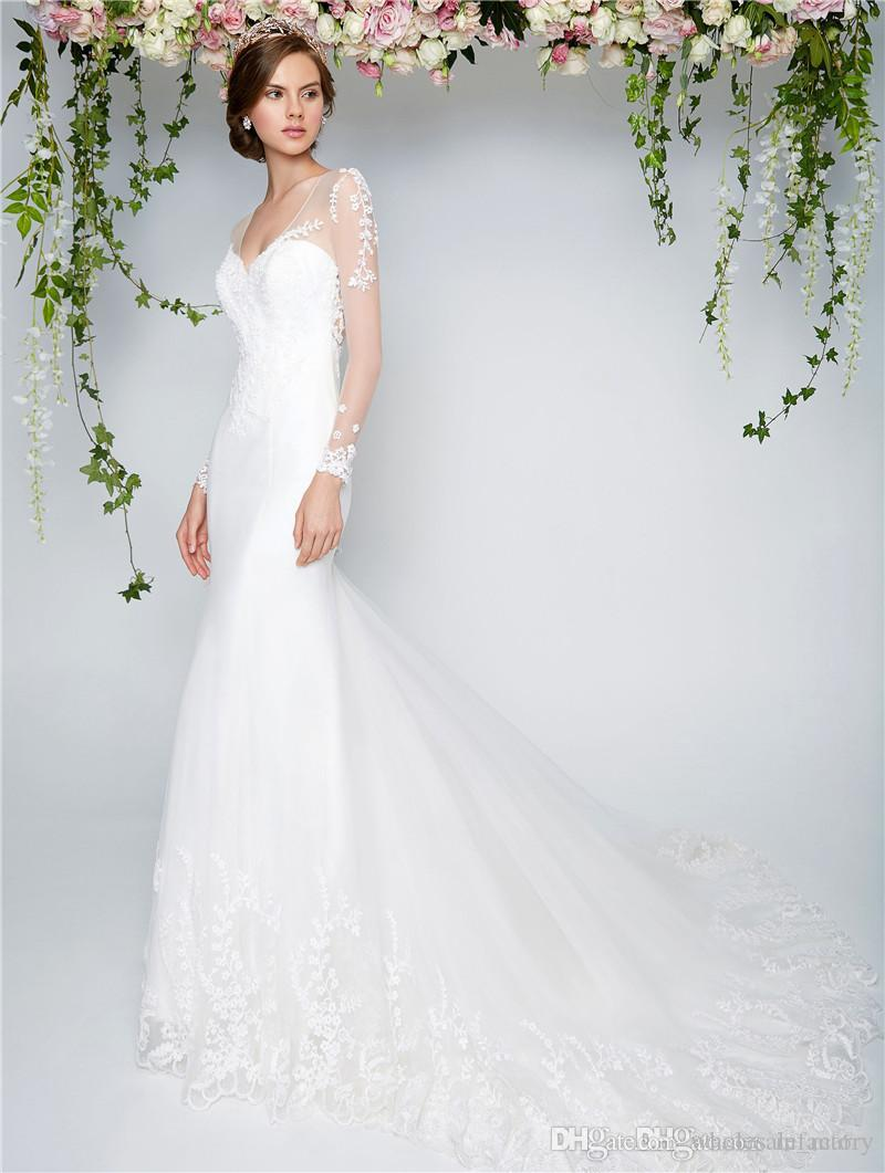 Fein Simple Mermaid Wedding Dresses Zeitgenössisch - Brautkleider ...