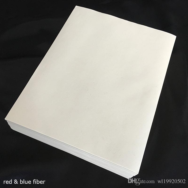 Tarjeta de lino blanco A4-25 Hojas