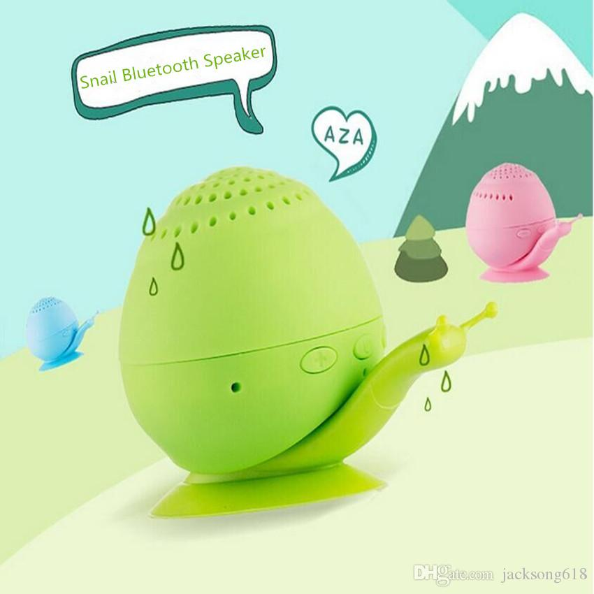 Bestselling Wireless Snail Bluetooth Speaker Novelty with Mini Cell Phone Holder Bluetooth Speaker Sound box Wholesales 1pcs/Lot