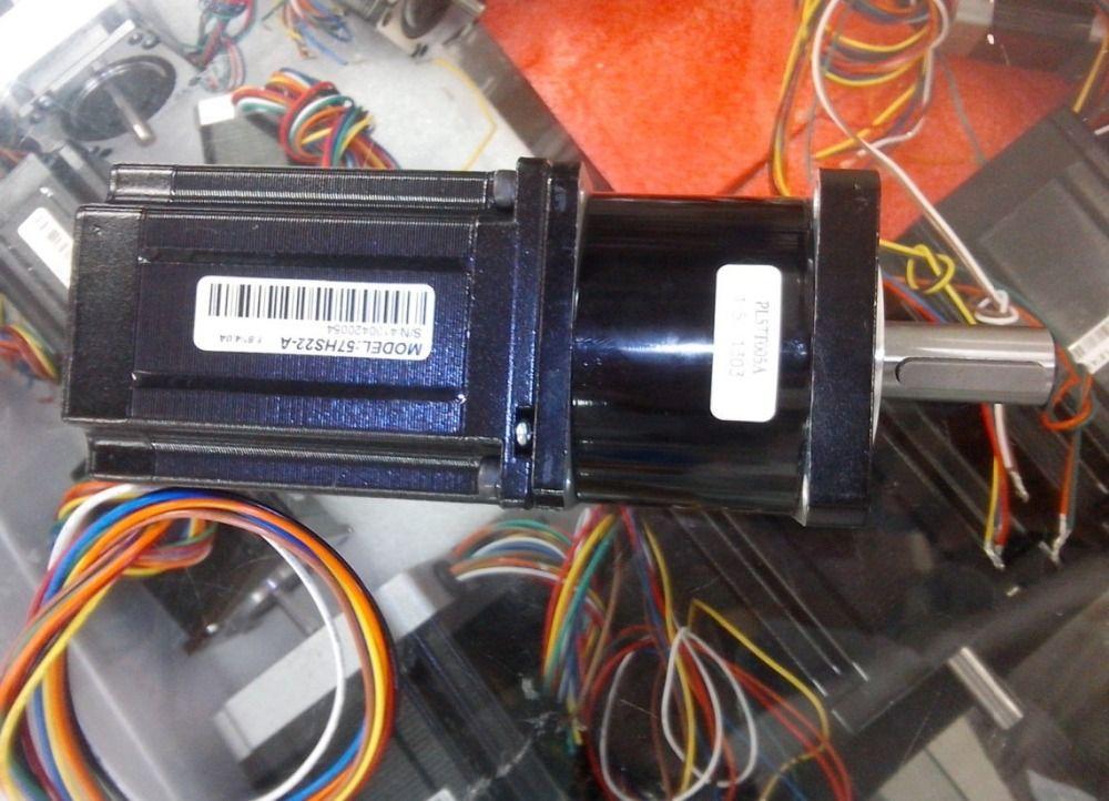 새로운 행성 감속기 1 : 5를 설치 LEADSHINE 스테퍼 모터 57HS22 NEMA (23)는 기어 박스 및 기어 모터 출력 할 수 있습니다 11NM을 구성