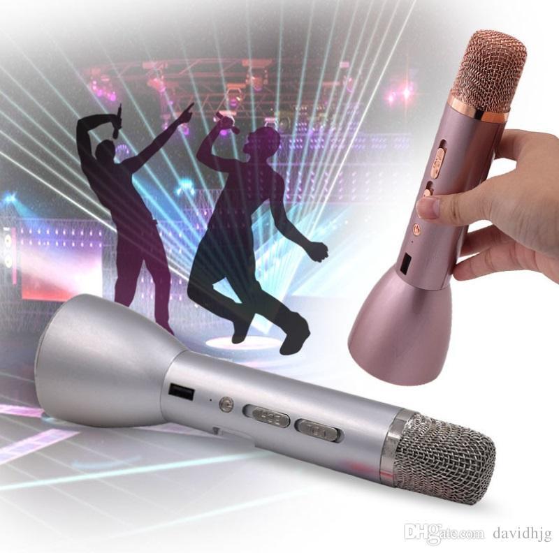 Way - K088 mobile karaoke treasure palm artefact étoile KTV chanter le microphone microphone sans fil Bluetooth