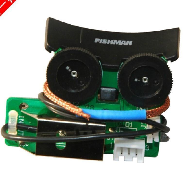 Recolecciones de Fishman Sonitone undersaddle recogida W / Sistema de preamplificador bordo para guitarra acústica