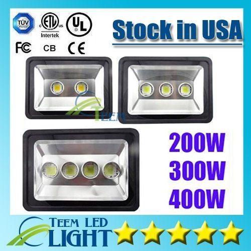 CE RoHS Super Bright LED Floodlight 85-265V 200W 300W 400W LED LED al aire libre LED Lámpara de luz de inundación impermeable LED Light Lights Lighting 88