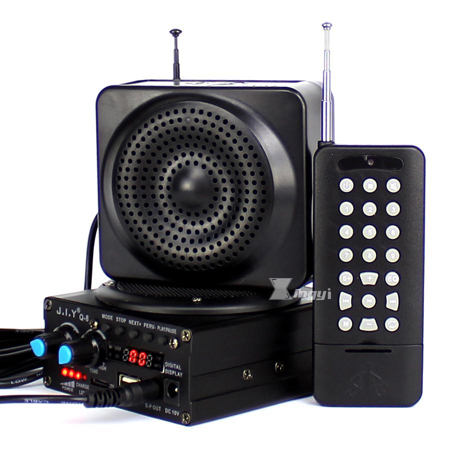 Q-8 48W 500m Remote Control Hunting Mp3 Bird Caller Trap Birds Sound Player Hunt Duck Decoy Equipment USB Speaker Mini Amplifier