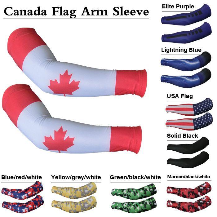 Sports Farm NEW Black Green Lightning Compression Sports Arm Sleeve