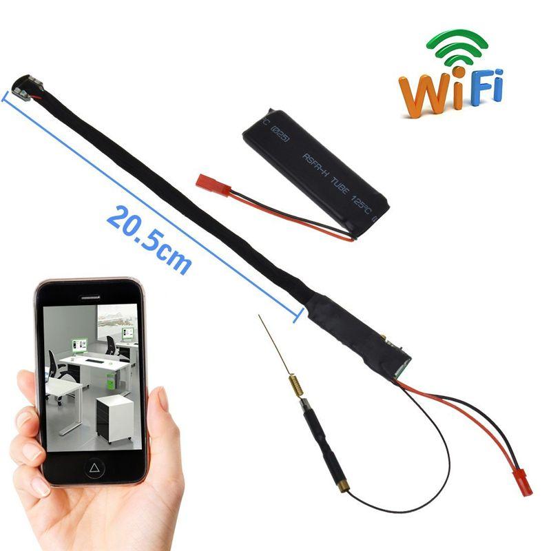 1080P Full HD Night Vision Mini Wireless WIFI IP Spy Camera Hidden DIY Module