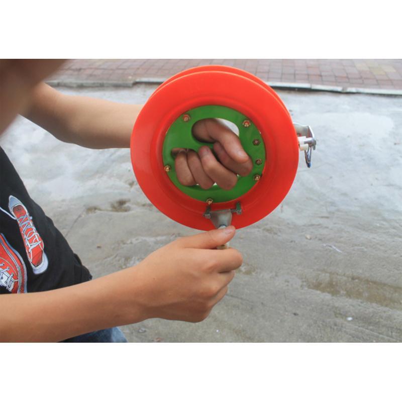 Супер жесткий ABS 18см рыболовная катушка для большой рыбы ручка удочка колеса бечевку снасти и аксессуары