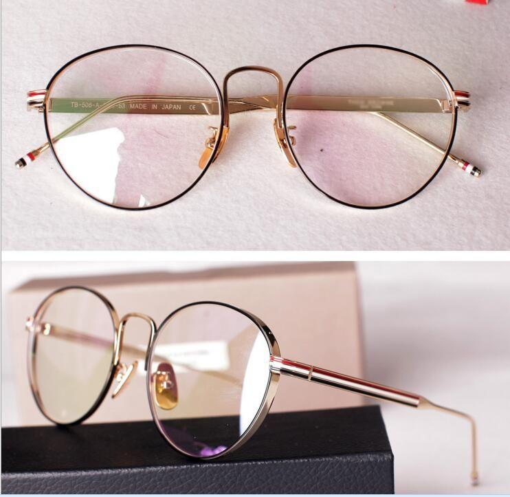 Großhandel 2017 Japanischen Modemarke Brille Tb 506 Retro ...