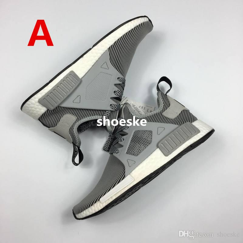 NEW Adidas NMD XR1 Core Black Silver Primeknit Boost S77195