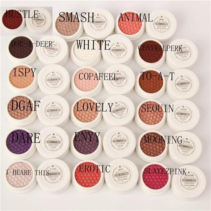 Best ColourPop Eye Shadow Colourpop Blush Single Color EyeShadow Powder Durable Waterproof Makeup Cosmetics with high quality