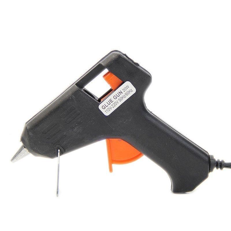 20 W pistola de pegamento herramienta de reparación profesional de alta temperatura herramientas de poder de pistola de pegamento de fusión en caliente de silicona enchufe de EE. UU. Envío gratis