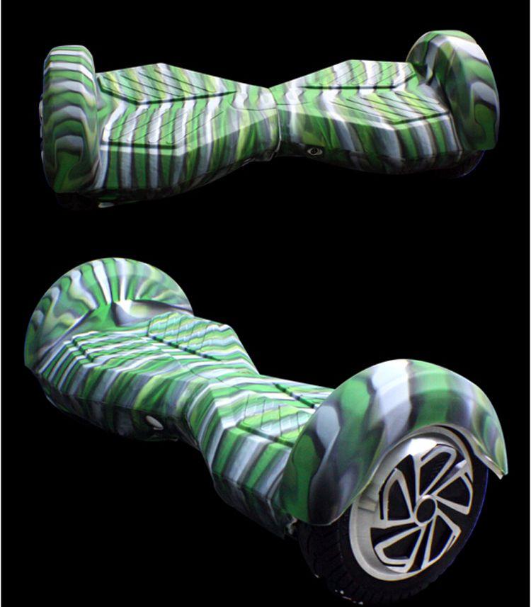 도매 핫! 8 인치 균형 스쿠터 블루투스 실리콘 케이스는 당신의 바퀴 전기 스쿠터 각자 균형을 보호합니다