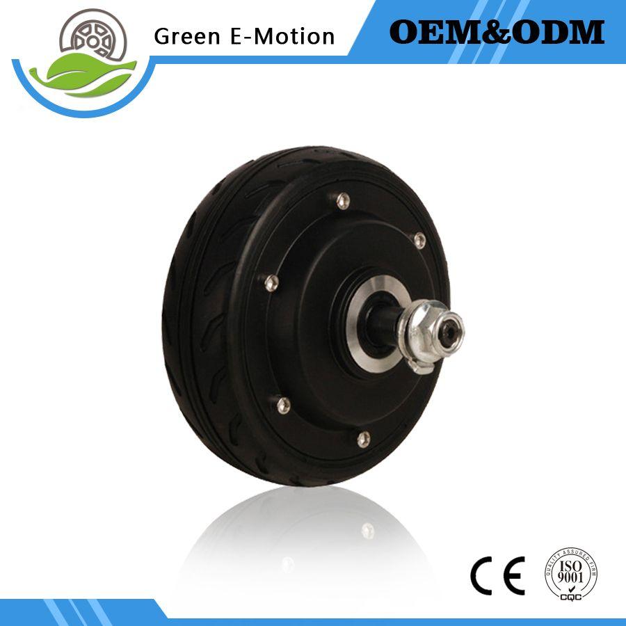 motorino elettrico del mozzo della ruota di alta qualità 5inch ad alta velocità 125mm motorino elettrico di diametro 24V / 36V 200W / 250W