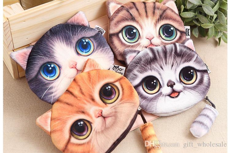 Wholesale 120 Pcs Mix  Cartoon Coin Purses folding Wallets Children Gifts