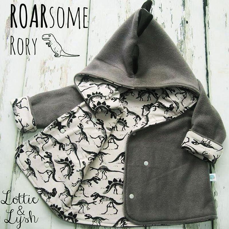 Erkek dış giyim çocuk bahar kış ceket erkek karikatür dinozor baskı uzun kollu kapüşonlu ceket