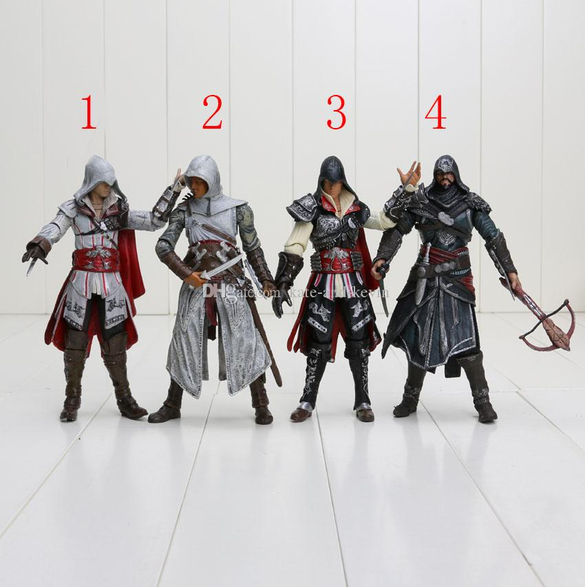 2020 Neca Assassins Creed Ii 2 Ezio Action Figure White Assassins Creed Ii 7 18cm From Kate And Kevin 13 46 Dhgate Com