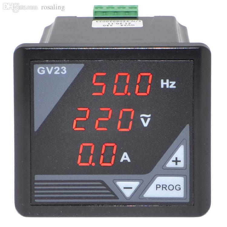 الجملة- BC-GV23 مولد الرقمية متر ac الجهد التردد الحالي متر فاحص لوحة شحن مجاني مع عدد تتبع 12002873
