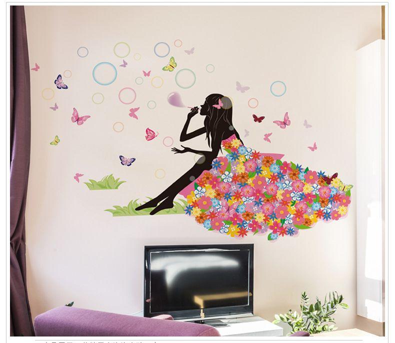 ELEPHANT Souffle Bulles Style Enfants Wall Art Decal Vinyl Sticker
