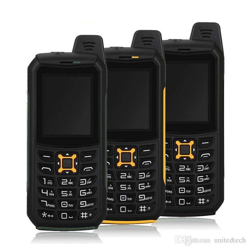 Original iMAN S2 Waterproof Dustproof Shockproof Mobile Phone IP68 Dual sim card Quad Band 2MP Flashlight Power bank Cellphone cell phone