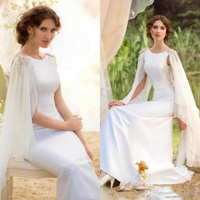 Greek 2017 White Mermaid Evening Dresses Arabic Muslim Formal Gowns Evening  For Weddings Celebrity Guest Dress Custom Made Vestidos Tartan Evening