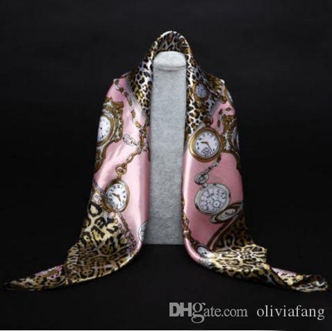 Повышение!Шелковый шарф ожерелье длинный шейный платок шарфы женщин печатных Шелковый глушитель бренд-дизайнер шарфы шелковые шарфы печатных шарфы Multi C