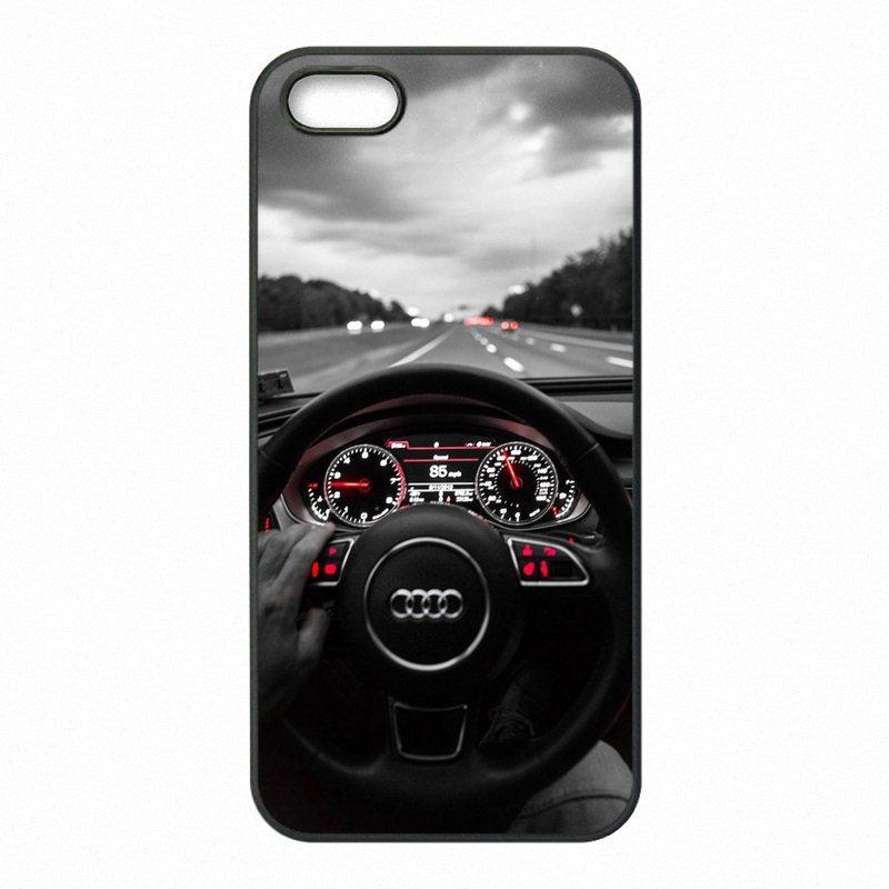 Design Audi Logo Phone Covers Shells Hard Plastic Cases For ...