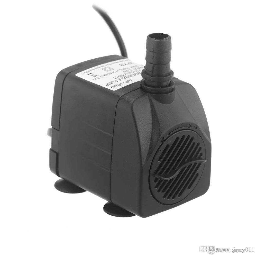 Pompes 1000L / H 8.5W Pompe d'eau submersible Hydroponic pour l'aquarium Rockery Fontaine Paêle Réservoir 220 - 240V 50Hz