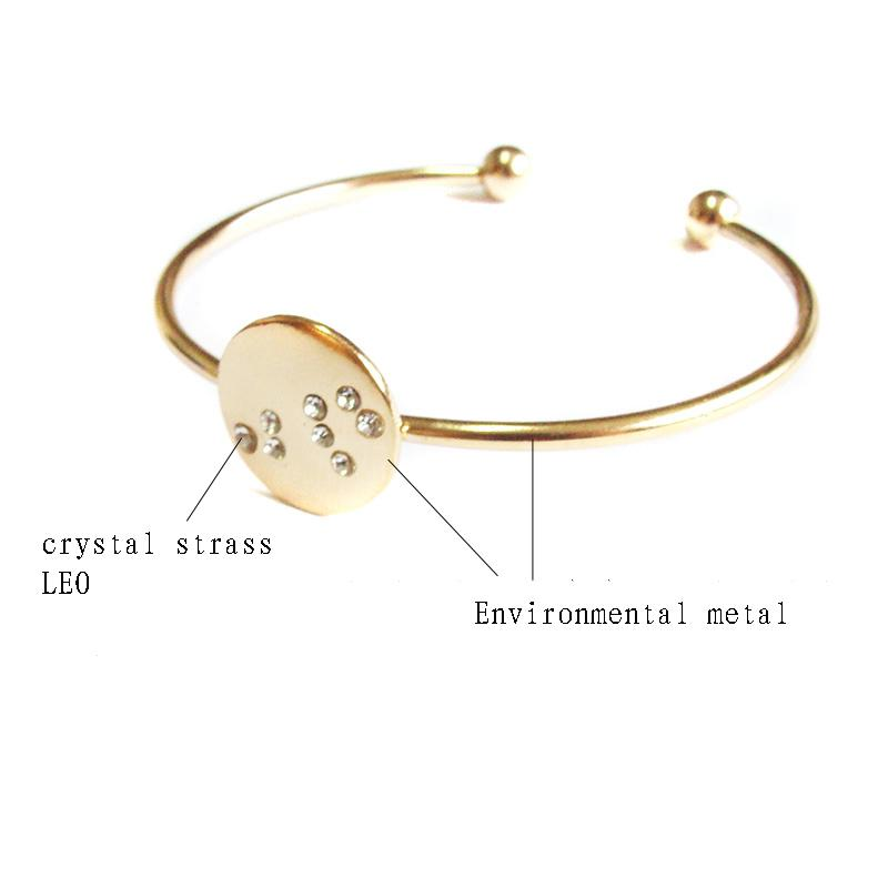 New trend hot sale twelve constellation bangles,hot fashion memory ...