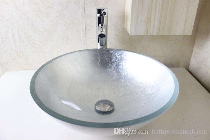 Lavabo de vidrio lavabo encastrable rectangular de vidrio - Lavabo de vidrio ...