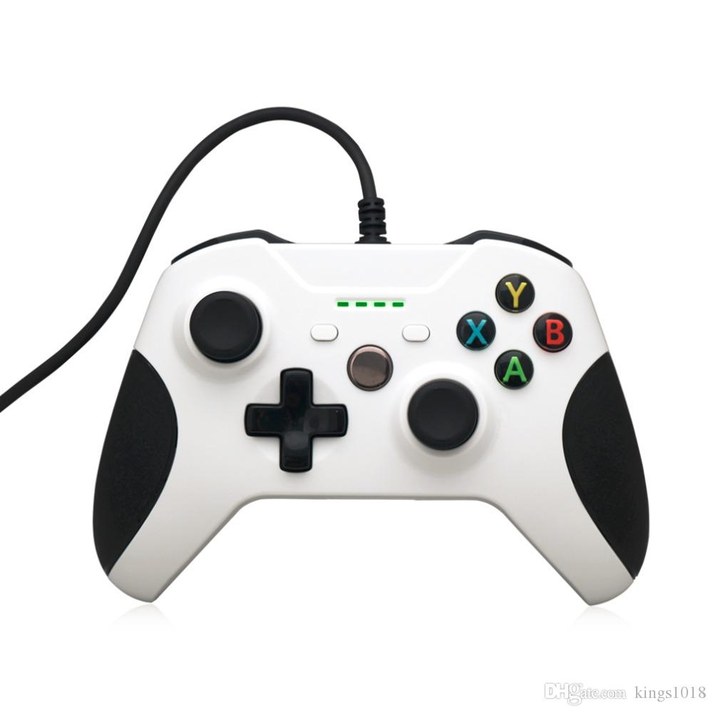 1.8M Length Super Lightweight USB Wired Computer Game Controller Gamepad Joystick With Microphone For XBox One S