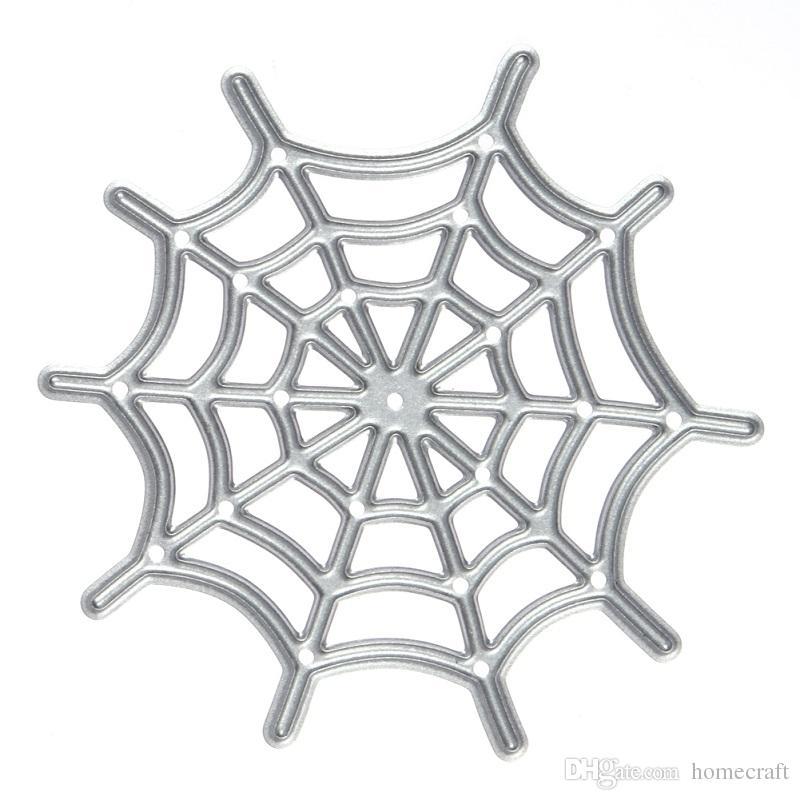 Spider Web Pattern Metal Crafts Cutting Dies For DIY Scrapbooking Decorative Craft Photo Album Embossing DIY Paper Crad Folder