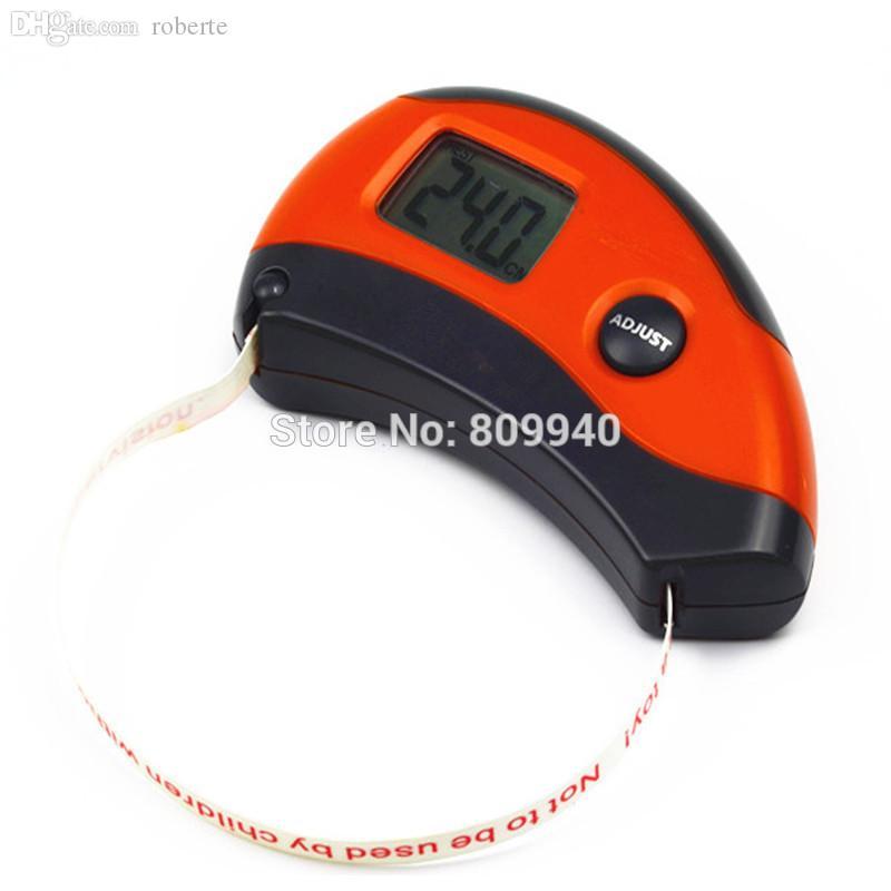 Il nastro di misurazione di salute di Digital di vendita-All'ingrosso misura esattamente 8 strumento di lettura facile della parte del corpo