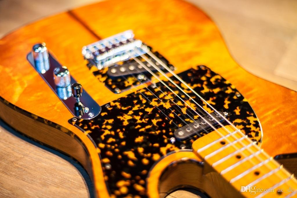 شحن مجاني hs أندرسون hohner madcat خمر نادر الغيتار الكهربائي لهب القيقب الأعلى الأصفر الانتهاء من أجمل أحمر السلحفاة pickguard tl