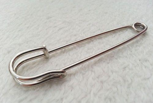 100 PC DIY Pin Brooch Antiqued 청동 구리은 도금 Kilt 안전 Pin Brooch 좋은 선물 clasps