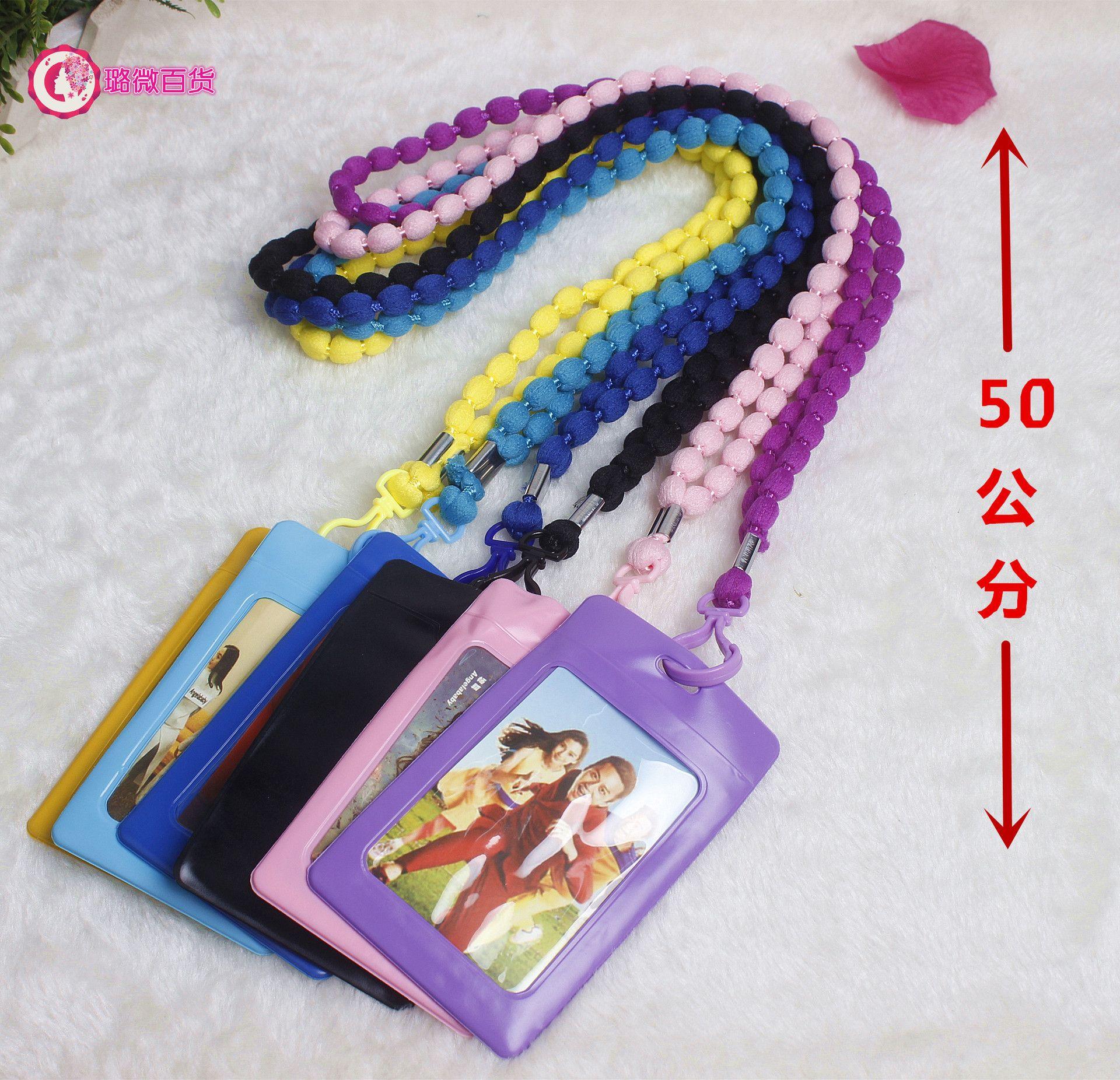 Fabricantes que vendem telefone móvel cordão de exposição marca Badge ID card define novo estilingue atacado Halter corda