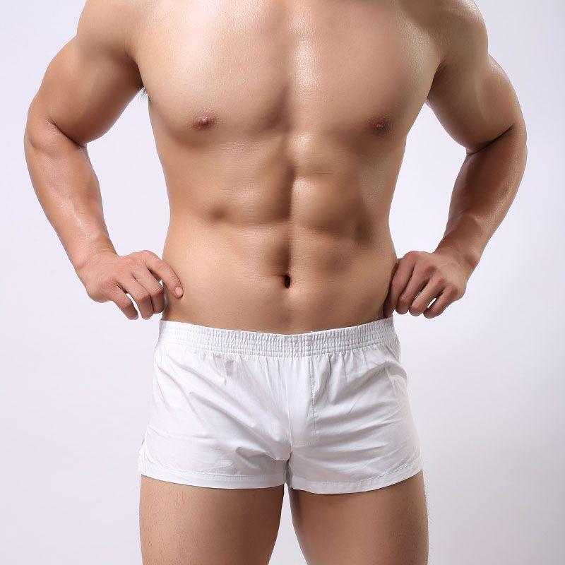 2018 hot sexy swimwear brand soutong men swim trunks pure cotton beachwear for underwear men size M L XL for YK01