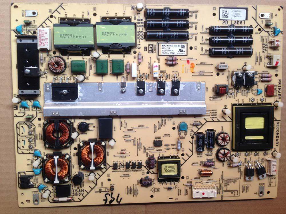 Scheda di potenza originale 1-883-922-13 APS-299 per Sony KDL-55EX720 LTY550HJ03