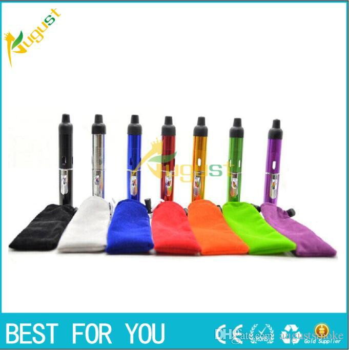 Click N Vape sneak A vape smoking metal pipes Herbal portable Vaporizer for dry herb tobacco with built-in Wind Proof Torch Lighter