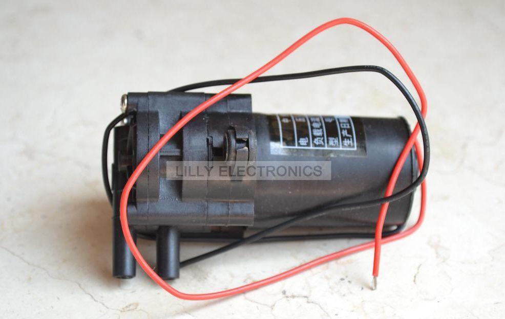 12V ZC-A210 Mini Kunststoff Zahnradpumpe selbstsaugende Wasserpumpe 0-100℃