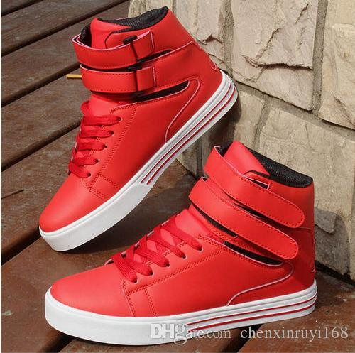 red casual shoes mens