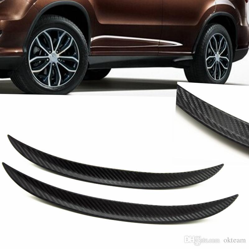 25cm 33cm 44cm 72cm Wheel Eyebrow Decorative Strips Universal Car Tires Eyebrow Car Styling Suitable for Car Modify